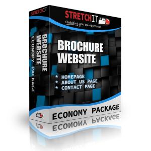 Economy Package Brochure Website