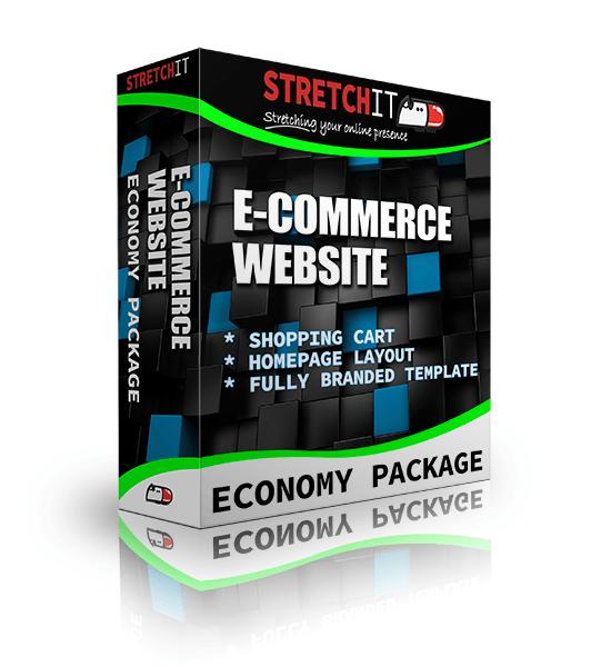 Economy Package Ecommerce Website