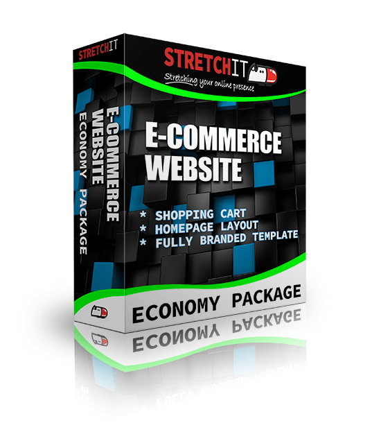 Economy Package Ecommerce Website