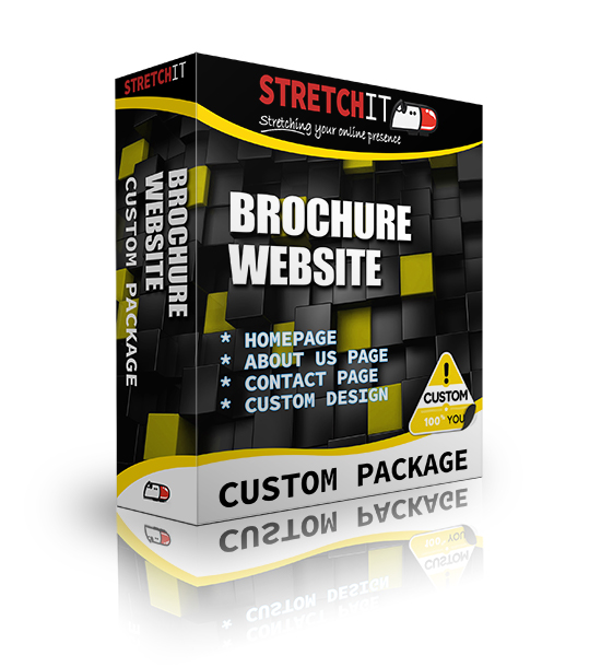 Custom Package Brochure Website
