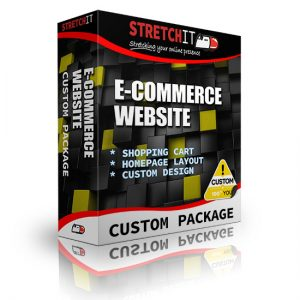 Custom Package Ecommerce Website