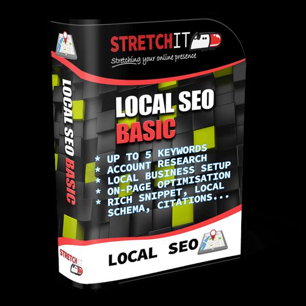 Local SEO Package Basic - Establish online visibility
