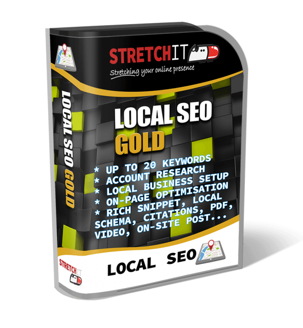 Local SEO Package Gold - For Growing Businesses