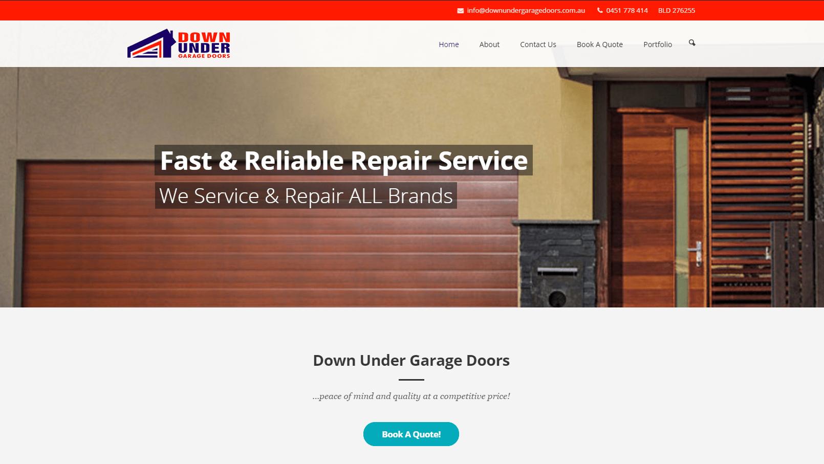Down Under Garage Doors Now Online Stretchit